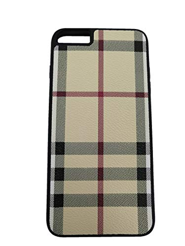 Boozuk iPhone 6/6S Plus Case, Luxury PU Leather Large Vintage Check Style Shockproof Cover Case for Apple iPhone 6/6S Plus 5.5