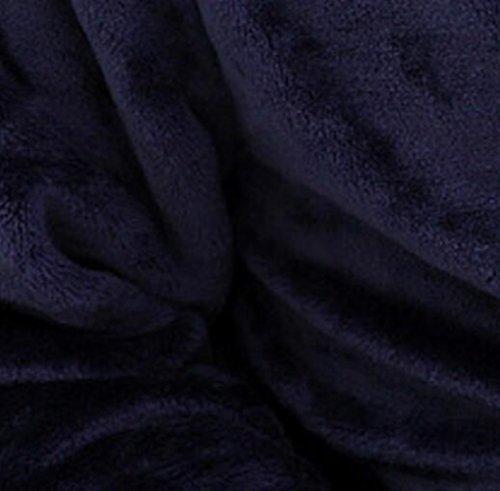 Navy Colore SUxian notte Accappatoio XXL Coppia Camicia da Seasons Homewear Four accappatoio da notte flanella pigiama Navy ispessita Dimensione Risvolto qfCaq