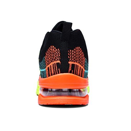 Luchtkussen Jogging Loopschoenen N_black-orange