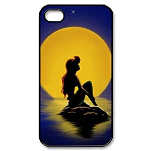 Disney The Little Mermaid iPhone 4/4s Case Fancy Plastic Colorful iPhone 4/4s Case