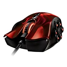 Razer RZ01-00750200-R3M1 - Naga Hex Expert Action-RPG/MOBA Gaming Mouse - Wraith Red Edition