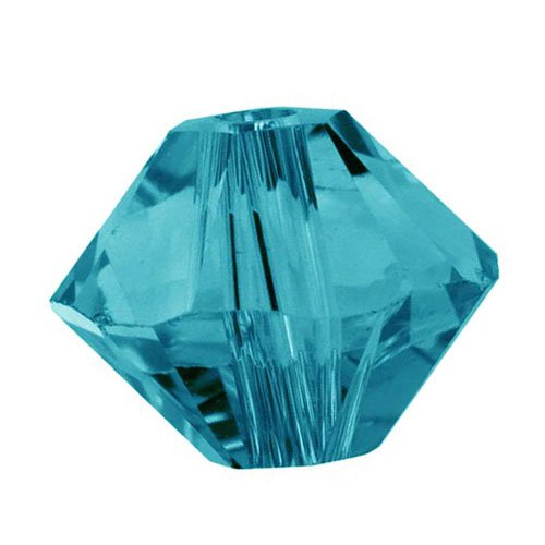 Swarovski Crystal, 5328 Bicone Beads 3mm, 25 Pieces, Indicolite