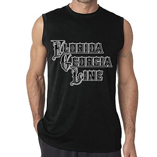 Mens Florida Georgia Line Vest Custom Sleeveless T-Shirt Boys Tank Tops M for $<!--$14.90-->