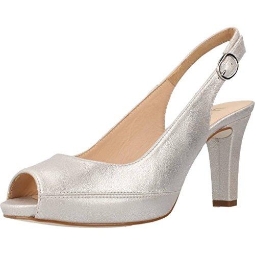 Unisa Damen Sandalen, Farbe Silber, Marke, Modell Damen Sandalen Nick 17 Silber Silber