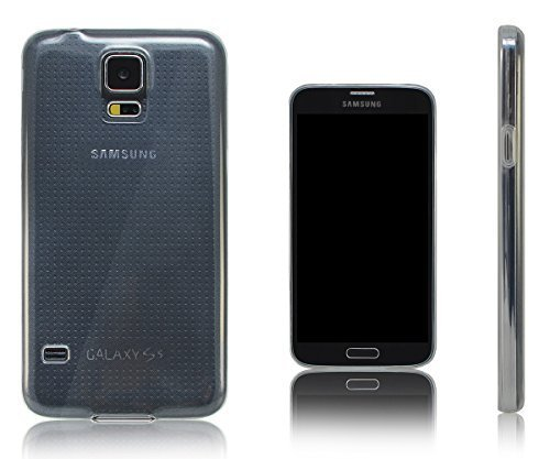 Transparent Rubber Case for Samsung Galaxy S5 i9600 G900 (Clear) - 9