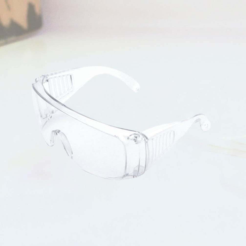 Milisten Gafas Protectoras contra Salpicaduras Qu/ímicas Gafas de Seguridad Protectoras Gafas contra Salpicaduras Gafas Antiniebla Antiara/ñazos para Mujeres Hombres