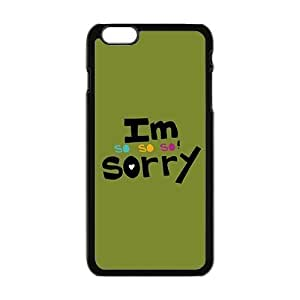 Apologetic green Phone Case for iPhone 6 Plus 5.5