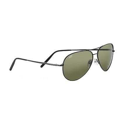 SERENGETI Aviator - Gafas de Sol, Aviator, Shiny Gunmetal, M ...