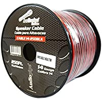 Speaker Wire 14 GA 250 Feet Red Black Stranded Copper Clad Home Audio Sound
