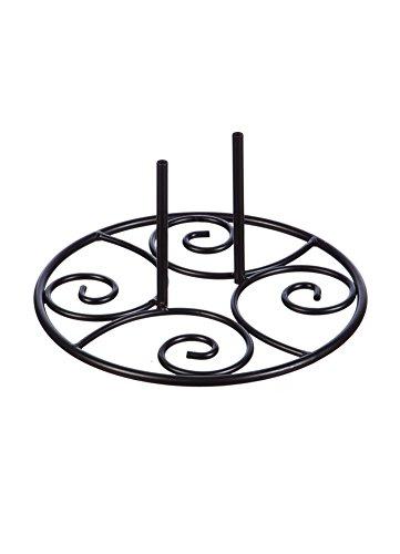 Evergreen Elegant Swirl Stand Base (Metal Swirl Stand)