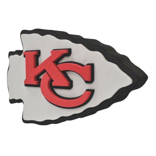 NFL Kansas City Chiefs 3D Foam Logo