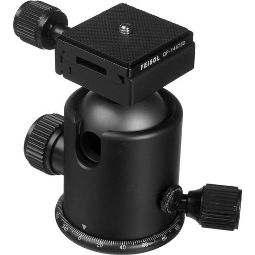 Feisol CB-50D Ball Head with Release Plate QP-144750 by Feisol (Image #2)