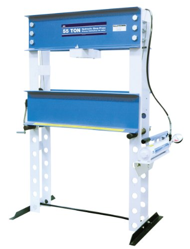 OTC 1850 55 Ton Capacity Shop Press with Hand Pump