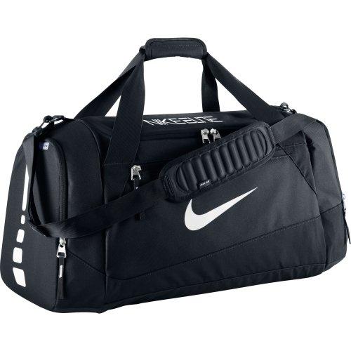 Nike Hoops Elite Team Black Duffel Gym Bag for Men and Women