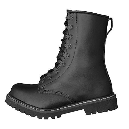 Brandit Botas schwarz Botas Negro Para Militares xvAwHzxqT