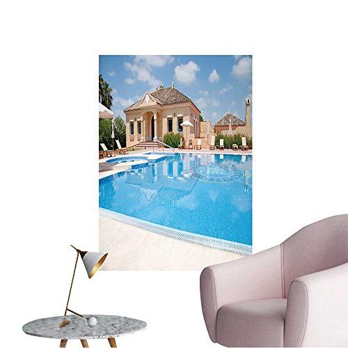 University Pool Vinyl - Wall Stickers for Living Room Hotel Pool Vinyl Wall Stickers Print,32