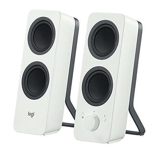 Logitech Z207 2.0 Multi Device Stereo Speaker (White)