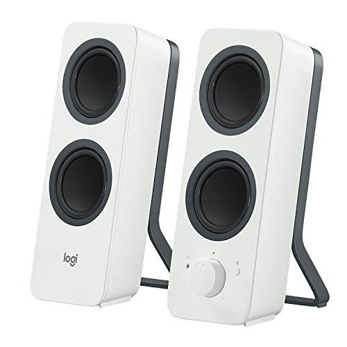 Logitech Z207 (White) 10 mW 2.0 Channel Speakers