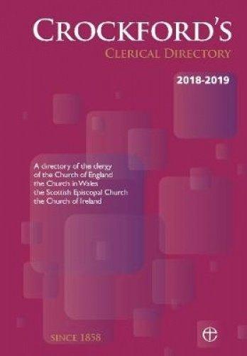 B.o.o.k Crockford's Clerical Directory 2018-2019 (paperback) PDF