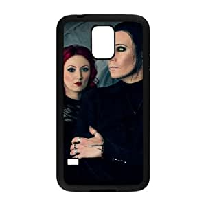 Samsung Galaxy S5 Cell Phone Case Covers Black Blutengel Cell Phone Case Fashion CZOIEQWMXN15672