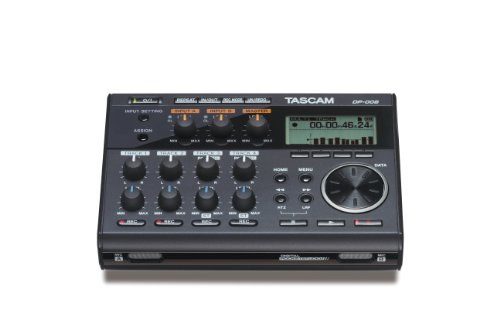 TASCAM DP-006 Digital Portastudio 6-Track Portable Multi-Tra