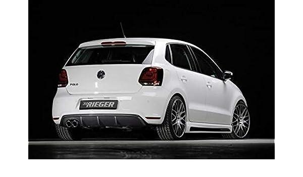 Rieger Trasero Uso Aspecto de Carbono para Volkswagen Polo 6 GTI ...