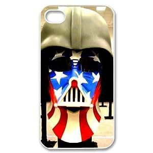 For Apple Iphone 4/4S Case Cover Helmet Phone Back Case Design Art Print Design Hard Shell Protection FG044127