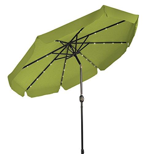 Trademark Innovations Lighted Umbrella Decorative