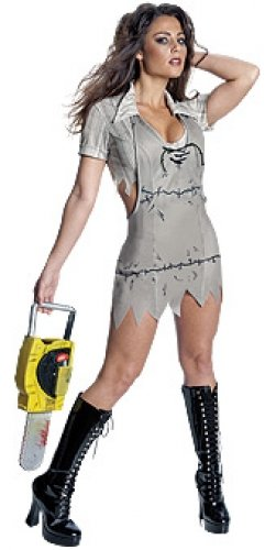 Miss Leatherface Costume - Medium - Dress Size 10-12