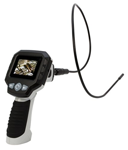 "Performance Tool W50045 2.4"" LCD Borescope Inspection Camera with Submersible Snake"