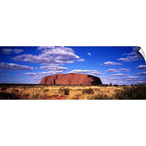 CANVAS ON DEMAND Wall Peel Wall Art Print Entitled Uluru (Ayers Rock) 48