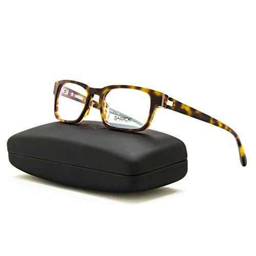 Price comparison product image Starck Eyes Eyeglasses SH 3011 0010 Brown Frame 49 mm