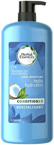 Herbal Essences Hello Hydration Moisturizing Conditioner with Coconut Essences, 33.8 fl oz(Packaging May Vary)