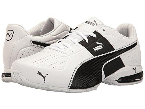 PUMA Men's Cell Surin 2.0 FM Sneaker, White-Black, 12 M US