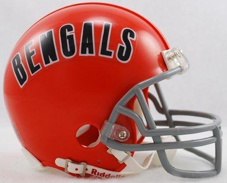 bengals mini football helmet - 6