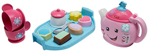 41CsbcgyCNL - Fisher-Price Laugh & Learn Sweet Manners Tea Set