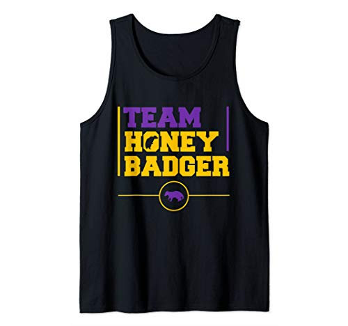 Team Honey Badger Tank Top (Badger Top Honey Tank)