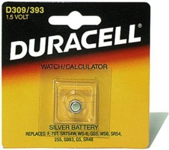 Duracell 309/393 1.5V Watch and Calculator (Duracell Watch Batteries)