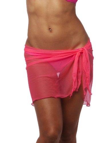 THE MESH KING Women's Short Mesh Cover-Up Swimsuit Tunic