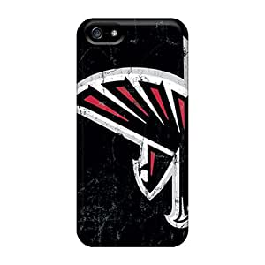 JenniferTziamouranis KGA269awZe Cases For Iphone 5/5s With Nice Atlanta Falcons Appearance