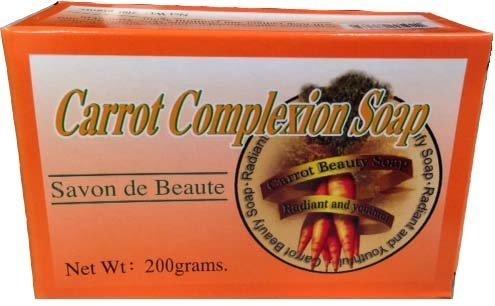 Carrot Complexion Soap 7 oz, Unisex
