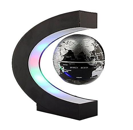 Careshine c shape magnetic levitation floating globe world map with careshine c shape magnetic levitation floating globe world map with led lights gumiabroncs Image collections