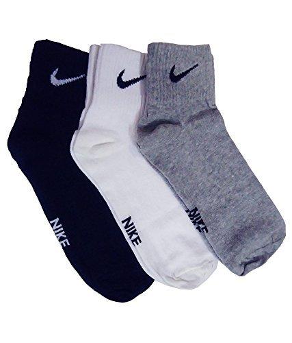 nike Multicolor Men's Combo Of 3 Pairs Socks (_Medium)