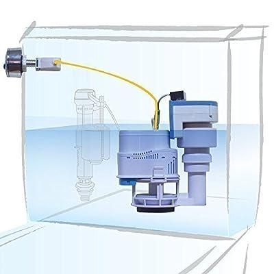 Odor Eliminator & Dual Flush Toilet Repair Kit for 2-piece Toilet w/ Side Flush by KOR SmartToilet KS300