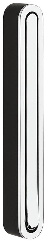 Moderner Klapphaken zum Schrauben Wand-Garderobe Paneel Kleiderhaken klappbar - H8000 | 160 x 21/156 mm | Metall silber eloxiert | MADE IN GERMANY | Möbelbeschläge von GedoTec® GedoTec®