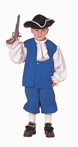 Forum Novelties Kids Colonial Boy Costume, Multicolor, X-Large