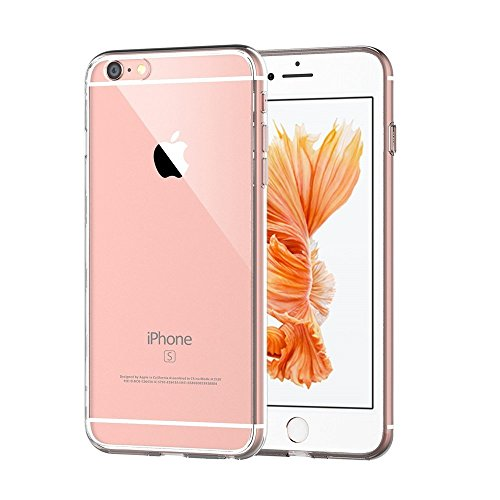 versiontech Premium Coque ultra fine transparent Amortissement Coque bumper pour iPhone 6S Plus iPhone 6 Plus 14 cm – Cristal Transparent