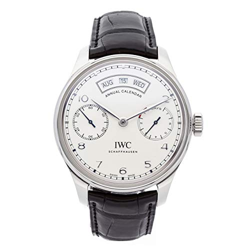 - IWC Portugieser Mechanical (Automatic) Silver Dial Mens Watch IW5035-01 (Certified Pre-Owned)