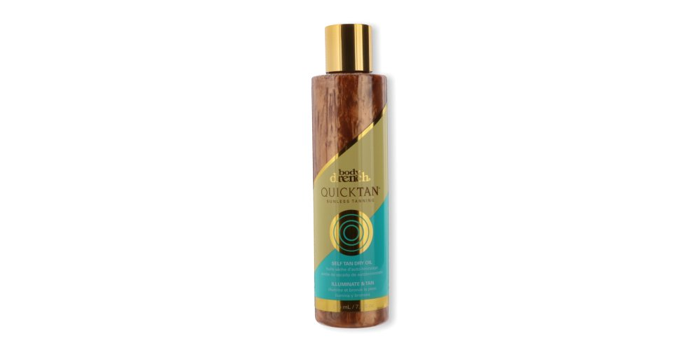 Body Drench Quick Tan Sunless Tanning Self Tan Dry Oil for Bronze Glowing Skin in Just Hours, 7.2 oz