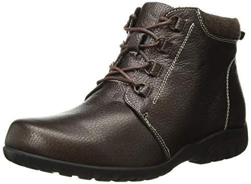 Propet Women's Delaney Ankle Boot, Bronze, 6 Medium US ()